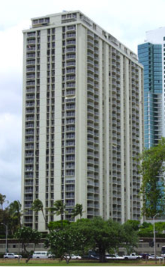 I LIVED IN THIS CONDO ACROSS FROM ALA MOANA  BEACH PARK, Honolulu Hawaii.