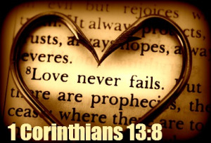 """""""Beloved, let us love one another"""""""