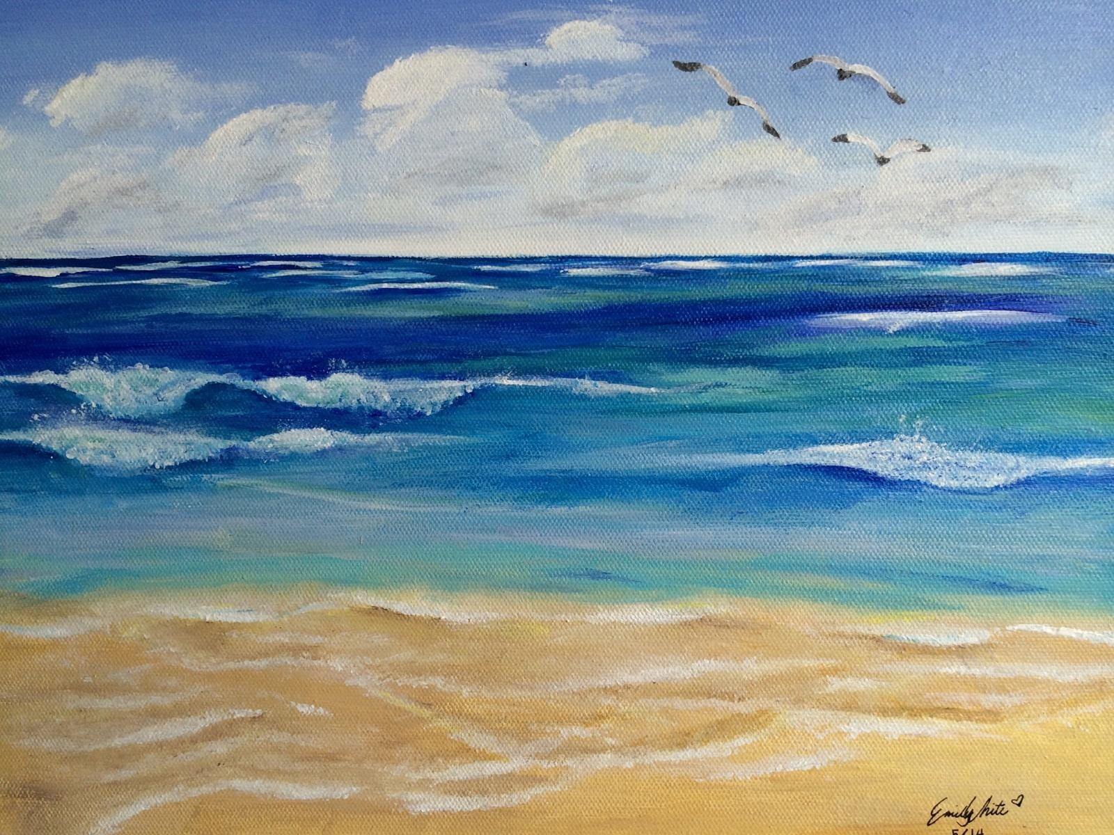 ART AND PHOTO GALLERY Gods Enduring Love - Ocean floor painting