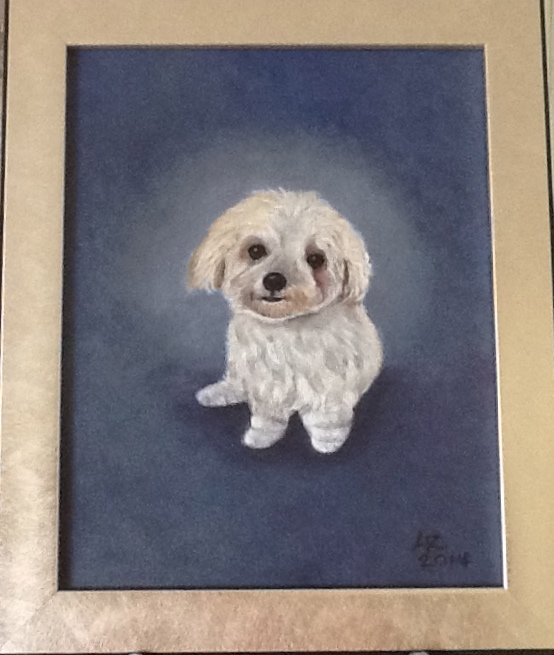 Dog portrait for my daughter's birthday.