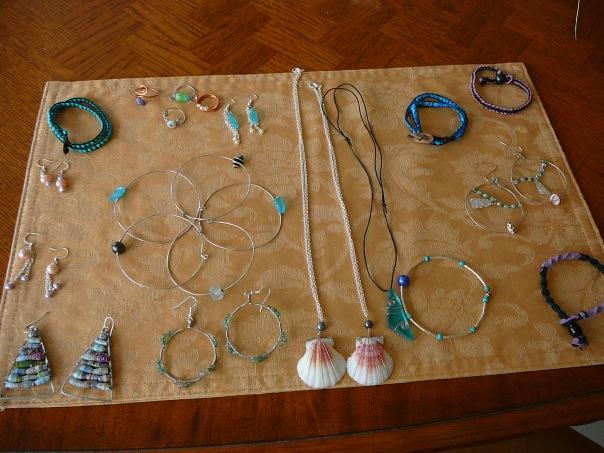 Emily's craft work one summer.