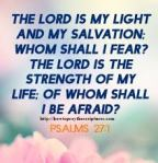 LOOK TO GOD & FEAR NOT!